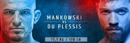KSW 47 Mańkowski vs Du Plessis